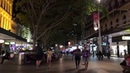 Brisbane Queen Street Mall on a Friday Night in 4K part 1