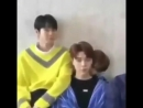 Omg this fucking video where haechan is kissing johnnys neck and johnny looks so confused