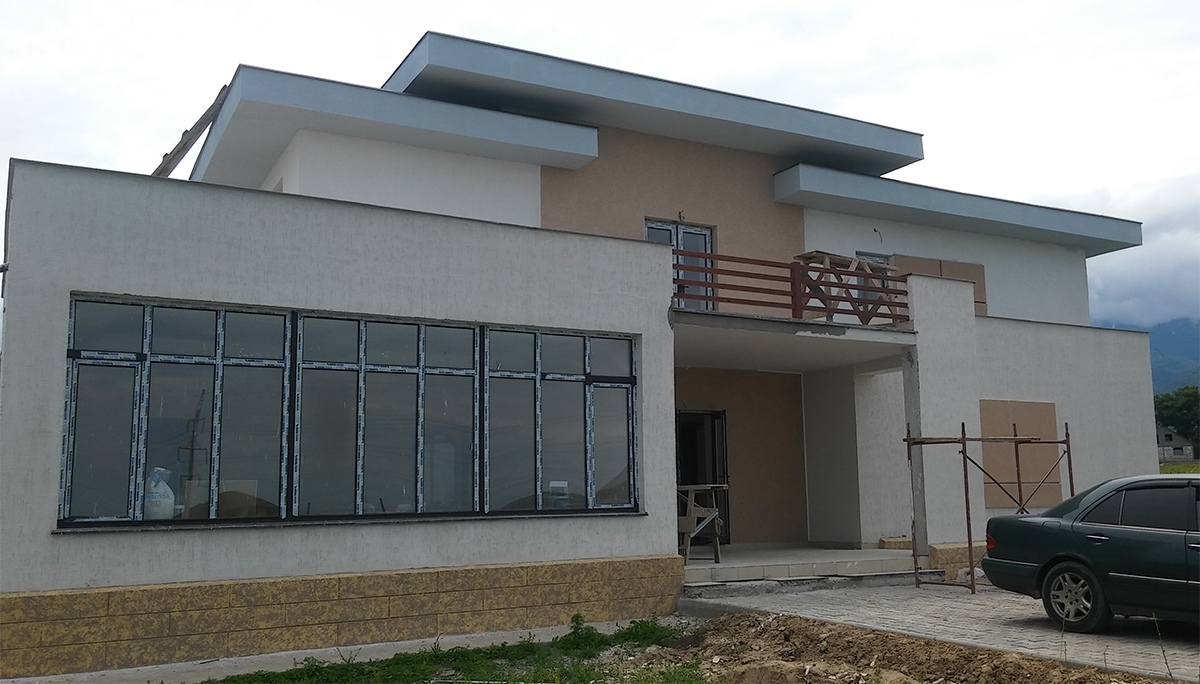 Дом, строительство жилого дома под ключ