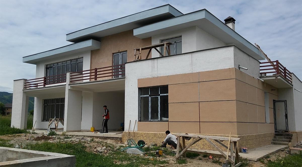 Жилой дом под ключ, строительство в Алматы