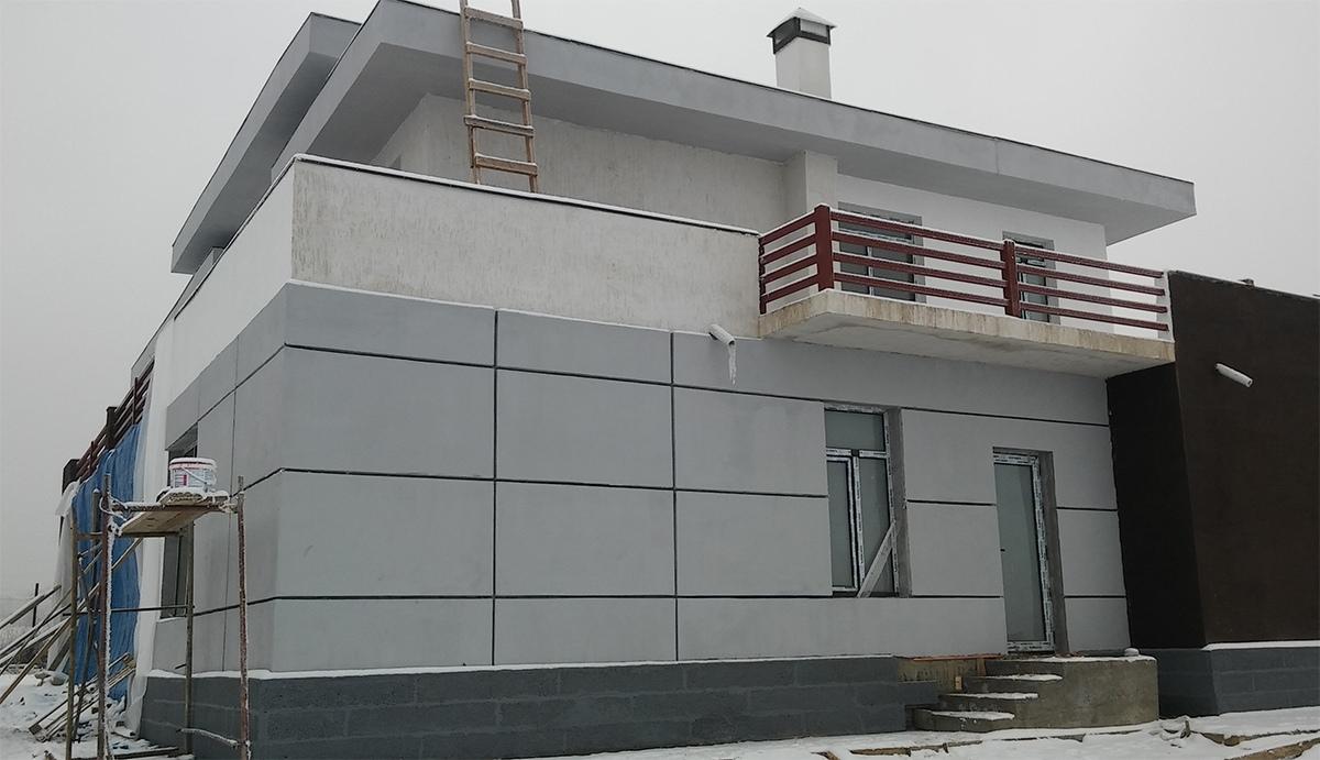Дом в Талгаре строительство под ключ