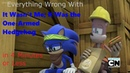 (Parody) Everything Wrong With Sonic Boom - It Wasn't Me; It Was the One-Armed Hedgehog