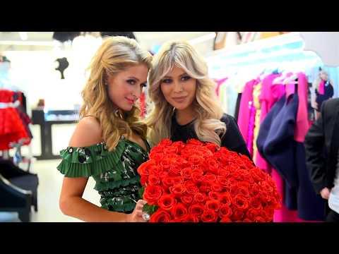 Пэрис Хилтон в бутике Bella Potemkina YouTube