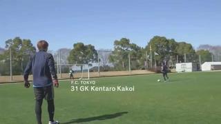 Captain Tsubasa's shots in real life