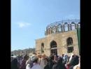 Имя Аллаха в Баку над мечетем Фатимы