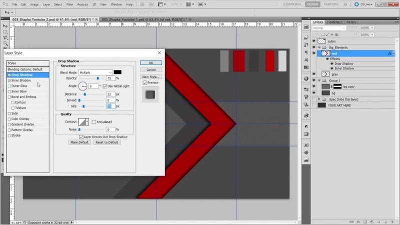[ARTTRAVELchannel] Как сделать шапку для Youtube (Ютуб)! Второй вариант для геймеров! Стиль Техно!