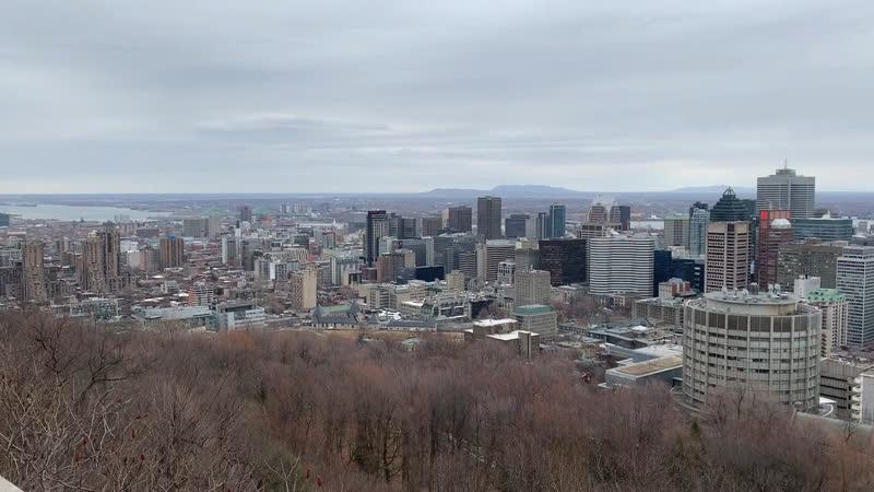 Монреаль с видом на Даун-Таун
