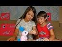 Интерактивная игрушка робот Zoomer Кролик Новый питомец Маша Машуня и Лялечка Юля