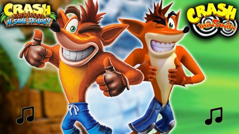 N. Sane Trilogy with the Soundtrack of Crash Twinsanity