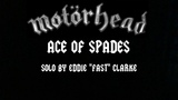 Motorhead-ace of spades (Solo by Eddie