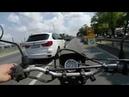 Тест-драйв мотоцикла Suzuki Djebel 200 по трассе и бездорожью.