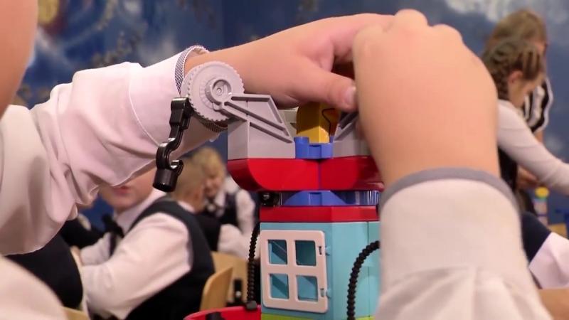 Лебединский экспресс: В Троицкой школе создали LEGO-центр для младших школьников (Губкин)