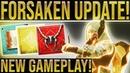 Destiny 2. TAKEN RAID! Dreadnaught Gameplay, Taken King/Exotic Bounties, Big Rep Changes, Scorn