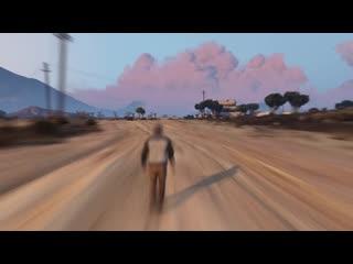 Таймлапс всей карты GTA 5