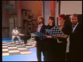 Murray Head (Chess - ABBA) - One Night In Bangkok (with Benny, Björn Frida )
