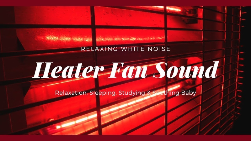 Heater Fan Sound | White Noise For Relaxation, Sleeping, Studying Concentrate