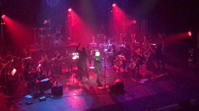 Глеб Самойлов и The Matrixx с симфоническим оркестром «Ураган»