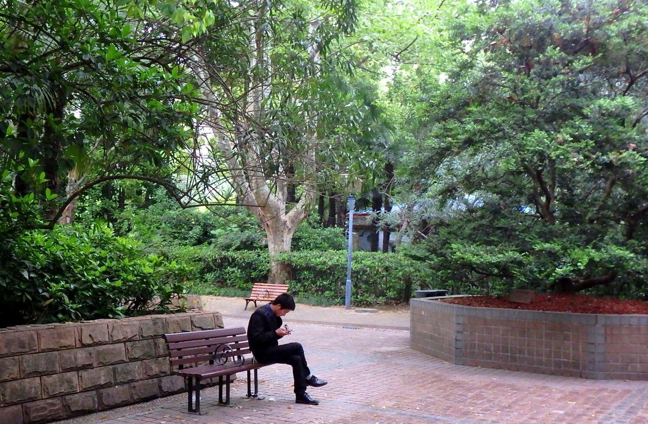 Народный парк в Шанхае
