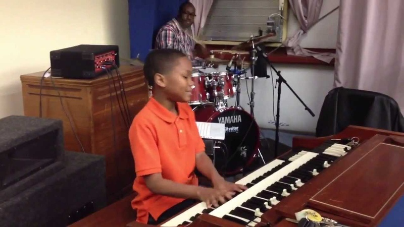 12 y/o Organist James (Trey) Todd playing Shout music -Part 2