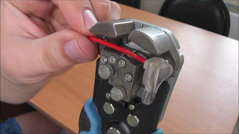 Съемник изоляции с проводов WS-0407. Простой ремонт без затрат.