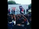 Hrithik Roshan Fan Club Kolkata - after marathon completion @iHrithik Dances on -ek pal ka jeena-