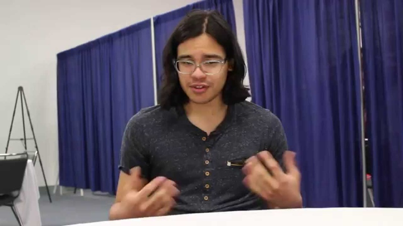 The Flash Roundtable Interviews at WonderCon 2015 - Carlos Valdes