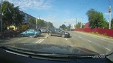 Reckless Female driver Causes Multi-Car Accident