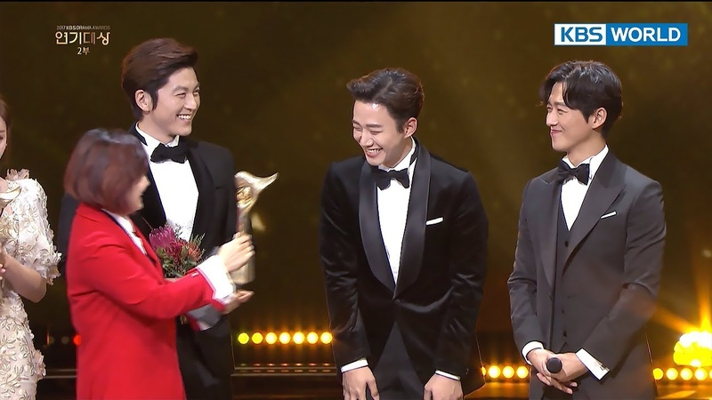 ♥Best Couple Award♥...wait...Namkoong Min♥Junho couple [2017 KBS Drama Awards2018.01.07]