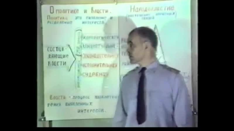 Преображение - 34. Перехват управления на концептуальном уровне (Зверев А.А. 1991 год)