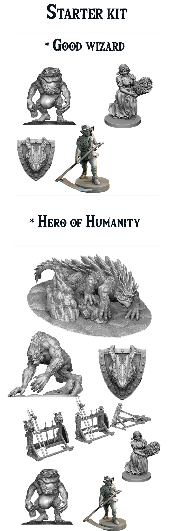 Evocatus miniature is creating 3D miniatures for D&D | Patreon