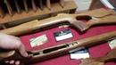 Индивидуальный приклад Карабин Мосина КО-44 Lancaster кавказский орех, ручная работа