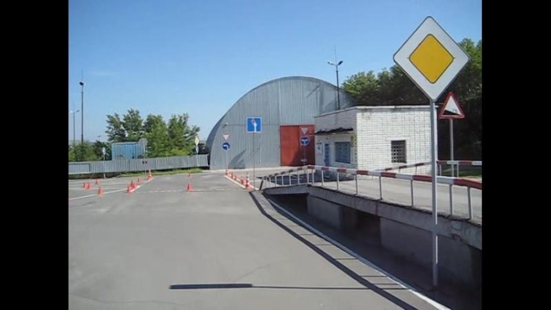 Обзорное видео автодрома ЧУДО СВЕТОФОР