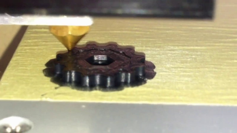 Печать ABS пластиком на 3д принтере Anet A6 3D Printer Anet A6 ABS print