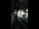 Новокрестовская, прибытие поезда