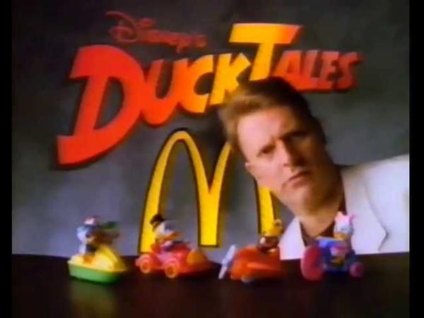 McDonalds Wilde About Duck Tales Australian Ad 1990