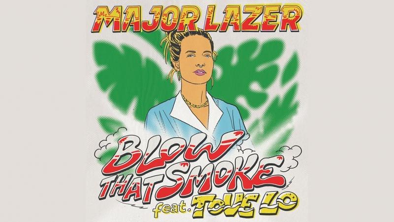 Major Lazer Tove Lo - Blow That Smoke (snippet)