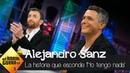 Alejandro Sanz sobre 'No tengo nada' su nuevo single Vivir el presente con la gente que quieres