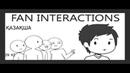 Жанкүйерлермен кездесу ҚАЗАҚША FAN INTERACTIONS IN KAZAKH Domics Animation Анимация