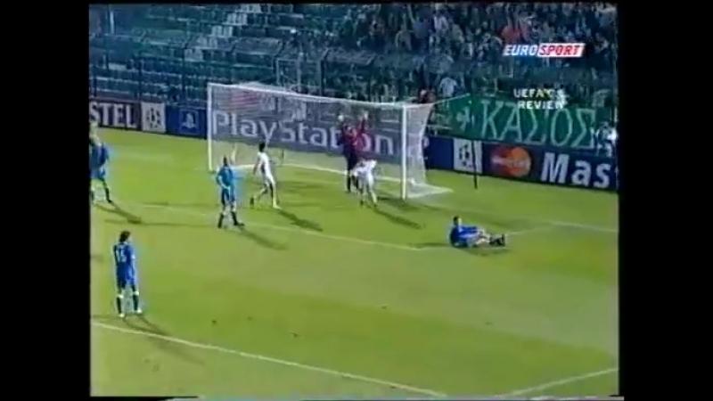 131 CL-2003/2004 Panathinaikos - Rangers FC 1:1 (01.10.2003) HL