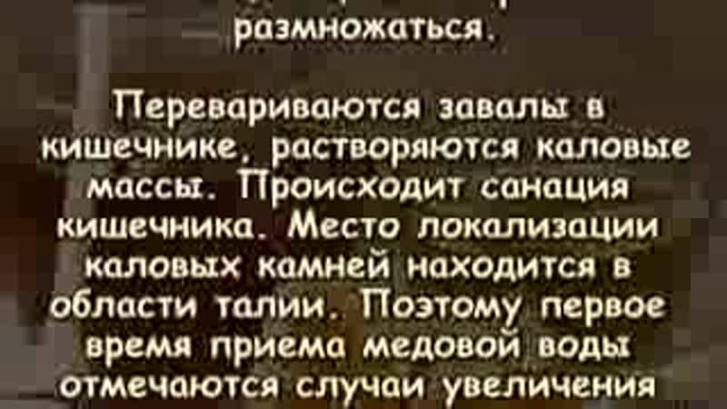 МЕДОВАЯ ВОДА ИЗГОНИТ ПАРАЗИТОВ И ОЧИСТИТ ВЕСЬ ОРГАНИЗМ_low.mp4
