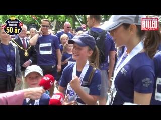 Мэри, Кристиан, Изабелла, Винсент и Жозефина побежали Royal Run