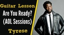 [R B Guitar Lesson] Are You Ready? (AOL Sessions)