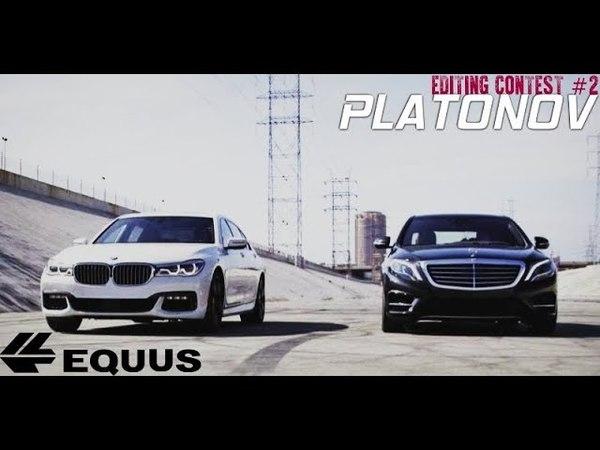 EQUUS STUDIO | MTA CCDplanet: Maybach S600 X222 x BMW M760Li xDrive G12