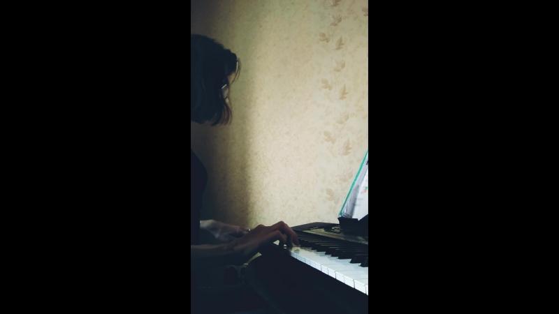 Бетховен, Ода к радости, синтезатор.mp4
