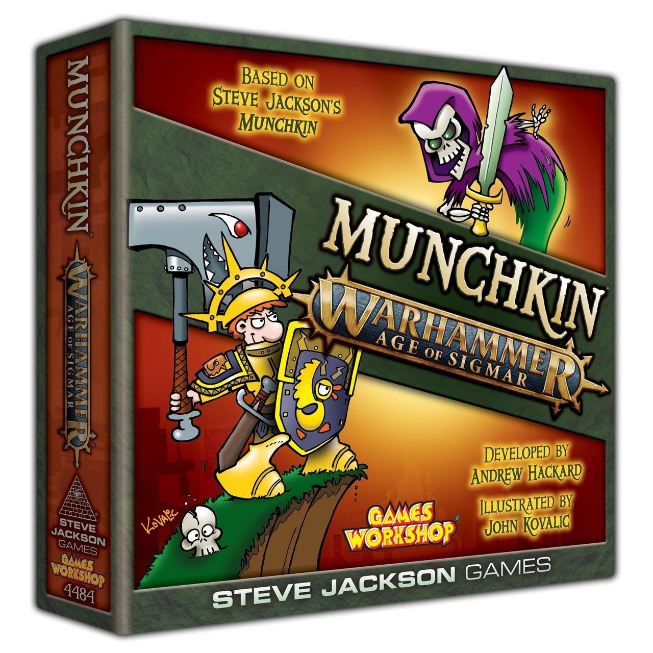 Munchkin Warhammer 40.000 et AoS 13QsjrU05y8