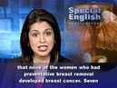 New Findings on Surgery for Women With Cancer Genes