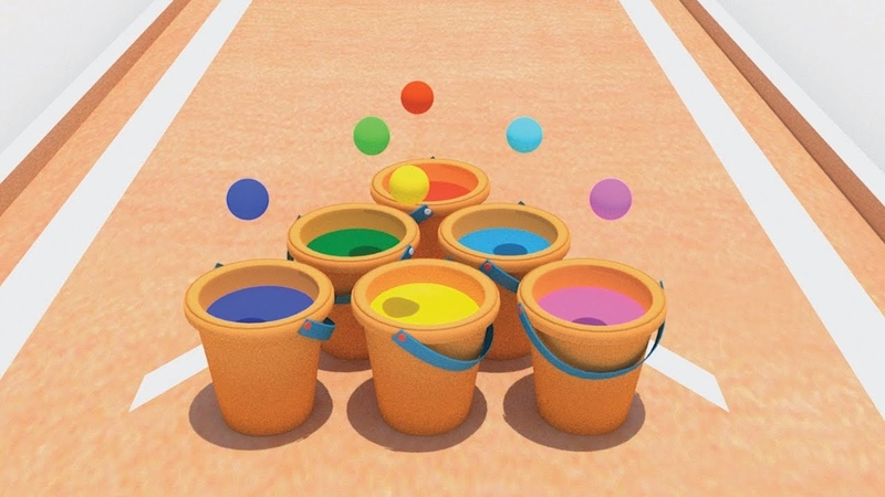 Palline rimbalzine - Summer Pong - Giochiamo insieme!