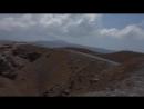 Кратер вулкана на Санторини