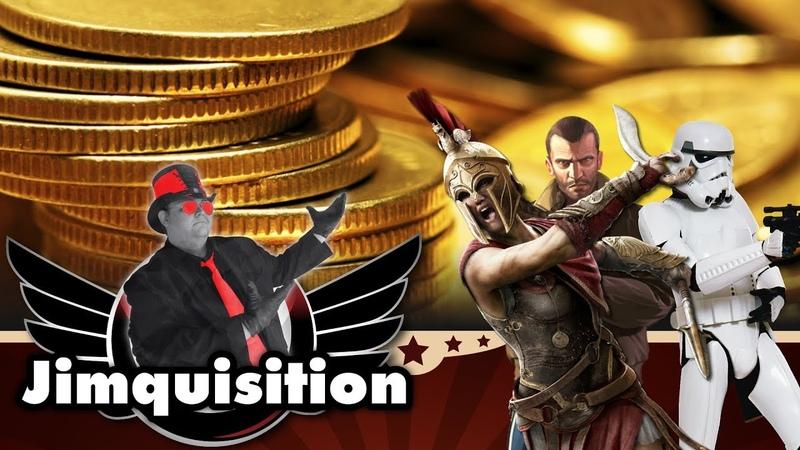 Demolishing The Excuses Made For AAA Publishers Exploitative Greed (The Jimquisition)