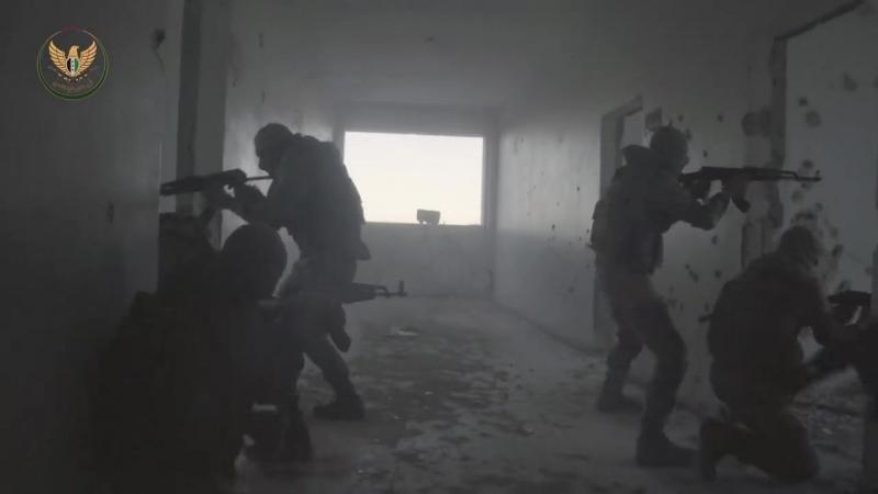 Тренировки 82 го соединения Специальных сил Национального фронта освобождения Джабхат Ватания ли т тахрир